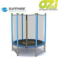 Батут Sapphire RINGO на пружинах 140см синий, фото 1