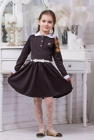 Школьное платье для девочки sh14, 116р., фото 2