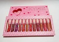 Рідка помада Kylie Серце матова 12 кольорів S-276