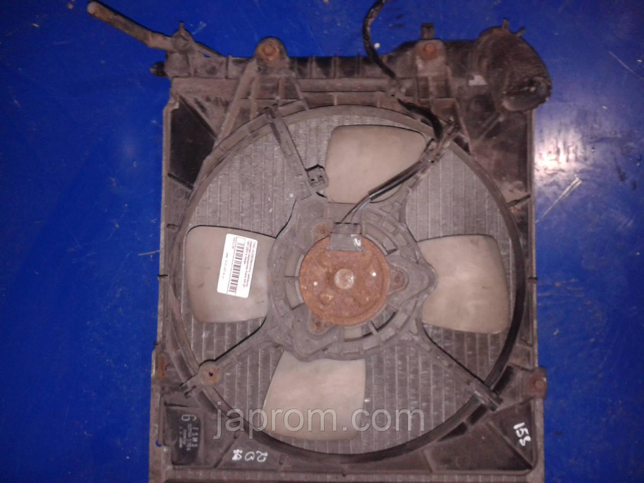 Вентилятор (диффузор) радиатора кондиционера Mazda 626 GF 1997-2002г.в. бензин