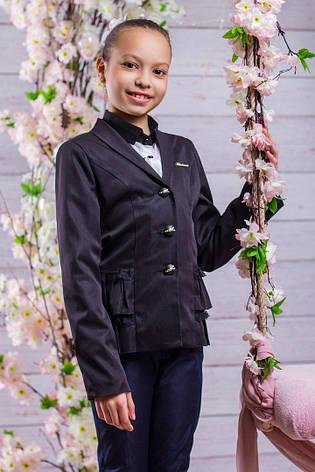 Школьный пиджак для девочки sh20, 122р., фото 2