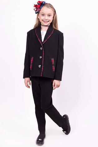 Школьный костюм брючный для девочки к11, 122-128, фото 2