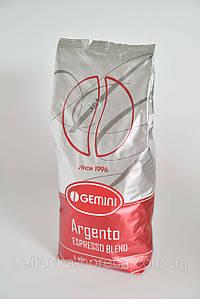 Кава в зернах Gemini Argento 1kg  50/50