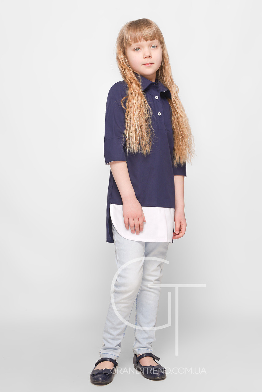 Рубашка для девочки  Kinder Joy -25479