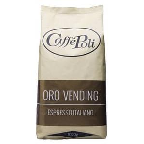 Кава в зернах Caffe Poli Oro Vending 1 кг 20/80