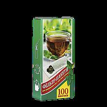 Фільтр пакети для чаю L, під стакан 100шт