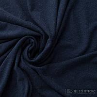 Вискоза трикотаж однотонная Темно-синий №2