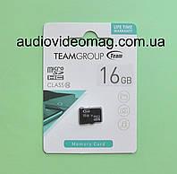 Карта памяти micro SD 16 Gb, 10 класс