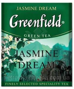 """Чай зелений в пакетиках  Greenfield """"Jasmine Dream"""" 100шт з Жасмином"""