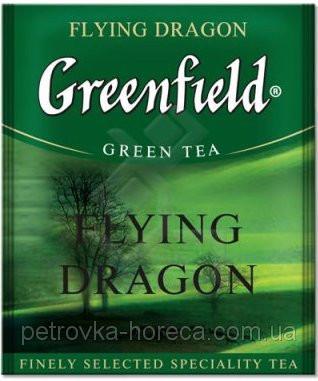 """Чай зелений в пакетиках  Greenfield """"Flying Dragon"""" 100шт"""