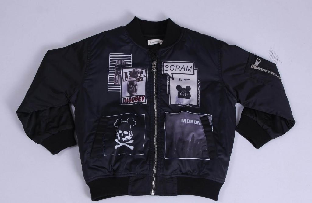Куртка демисезонная для мальчика Lankeer 6133 | на рост от 110-140