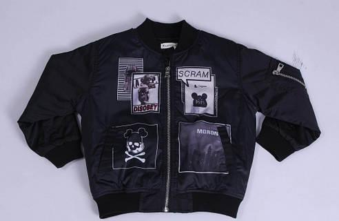 Куртка демисезонная для мальчика Lankeer 6133 | на рост от 110-140, фото 2