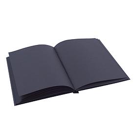 Блокнот 2.0 A6 Fisher Gifts black (чорний)