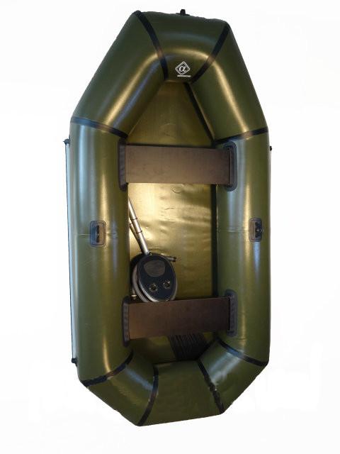 Надувная лодка ПВХ Omega Альфа 240 2-местная