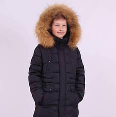 """Куртка зимняя, для мальчика от Snow Image 911, утеплитель - """"БиоПух"""" от 140 по 164"""