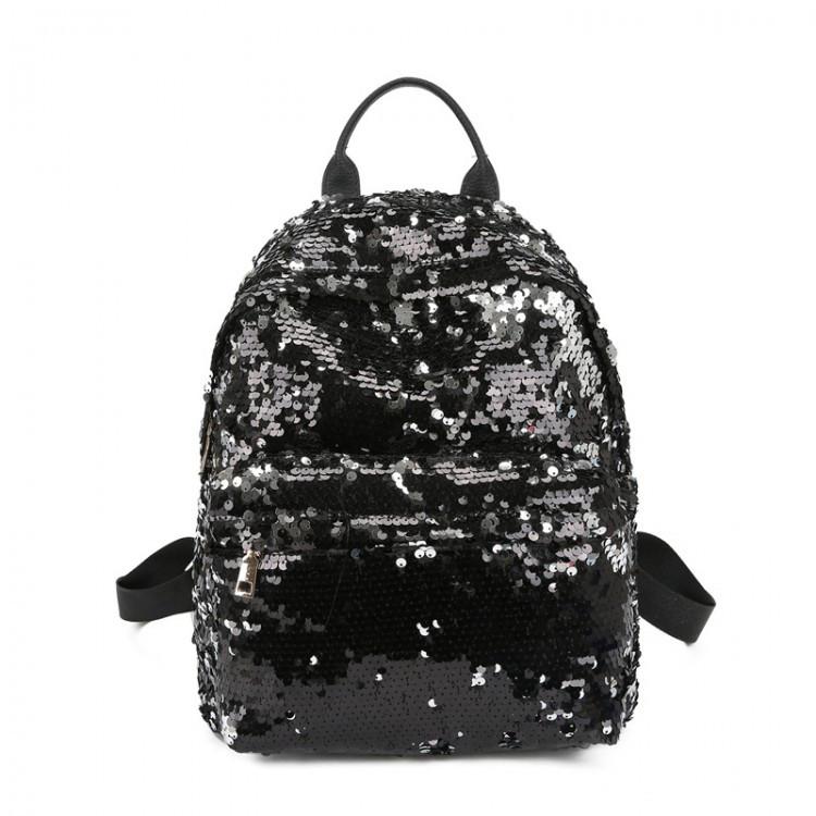 Рюкзак женский Hag Crystal черный eps-8054