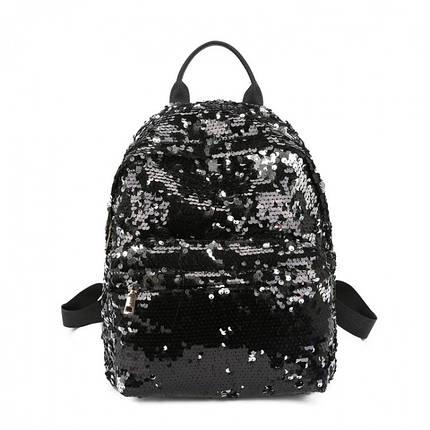 Рюкзак женский Hag Crystal черный eps-8054, фото 2