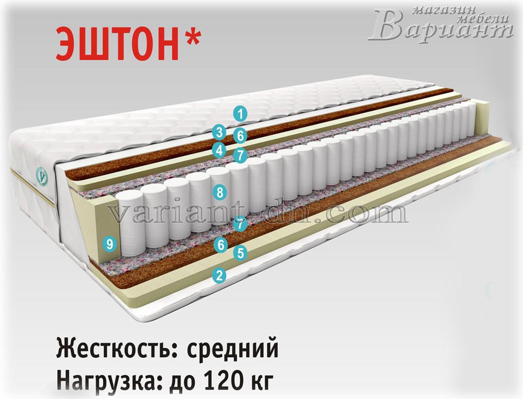 "Матрас ортопедический ""Эштон"" Vesta 80х190см"