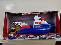 """Іграшкові машинки і техніка «Dickie Toys» (3308361) дослідницький човен з батискафом """"Explorer Boat"""", 33 см"""