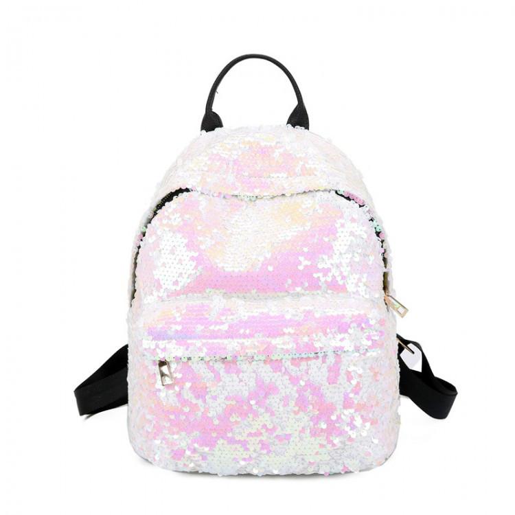 Рюкзак женский Hag Crystal розовый eps-8055