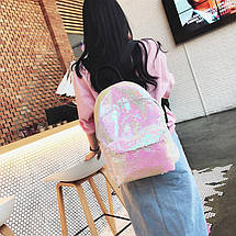 Рюкзак женский Hag Crystal розовый eps-8055, фото 2