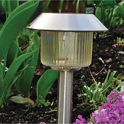 Светильники на солнечной батарее для сада LED