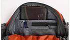 Сумка на пояс - рюкзак Jungle King оранжевая, фото 6