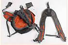 Сумка на пояс - рюкзак Jungle King оранжевая, фото 8