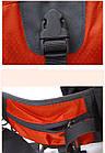 Сумка на пояс - рюкзак Jungle King оранжевая, фото 9