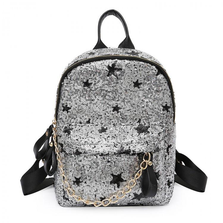 Рюкзак женский Hag Crystal серебряный