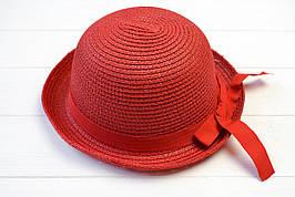 Шляпа детская Эйлат темно-красная