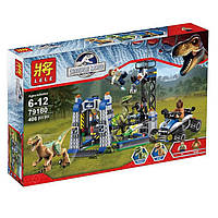 """Конструктор Lele 79180 (аналог Lego 75920) """"Заточение раптора"""", 406 дет, фото 1"""
