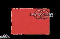Фильтр воздушный  заготовка  300-200mm  поролон, с пропиткой, красный