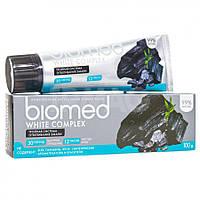 Зубная паста комплексная натуральная Biomed 100г (Швейцария) 100, Отбеливание, White Complex (тройная система отбеливания эмали)