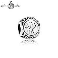Pandora Шарм из Серебра Знак зодиака Рыбы, фото 1