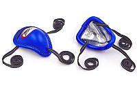 Ракушка для защиты паха TWINS GPS-1-BU-M (сталь, PVC, р-р M, синий)
