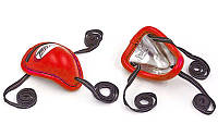 Раковина для защиты паха TWINS GPS-1-RD (сталь, PVC, р-р M-XL, красный)