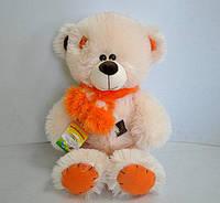 Мишка Тедди персикового цвета, 50 см, фото 1