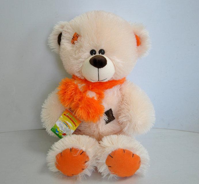 Мишка Тедди персикового цвета, 50 см