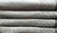 Полотенце бамбуковое Osushka (светло-серый)
