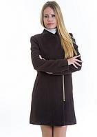 Пальто женское №12 (шоколад), фото 1