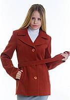 Пальто женское №15 (рыжий)