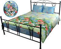 Комплект постельного белья Руно Евро Summer flowers сатин арт.845.137Summer flowers
