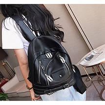 Рюкзак женский Hag H.C Bag черный eps-8143, фото 2