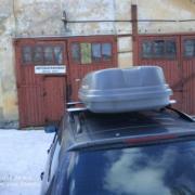 Автобокс Десна-авто 440л двухсторонее открывание