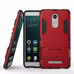 Чехол Xiaomi Redmi note 3 / note 3 pro Бампер Броня красный
