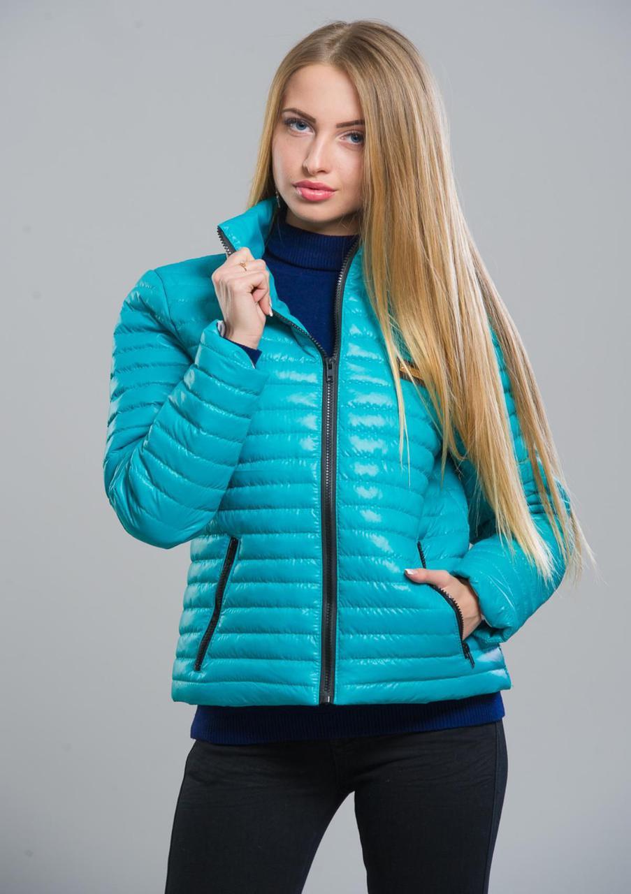 Куртка женская №5 (бирюза)
