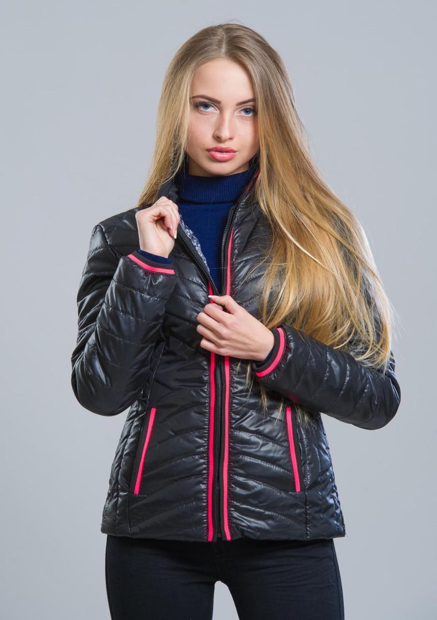 Куртка женская №7 (чёрный)