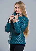 Куртка женская №9 (зелёный)