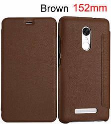 Чехол Lenuo для Xiaomi Redmi Note 3 SE / Note 3 Pro Special Edition 152 книжка brown